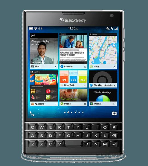 blackberrypassport