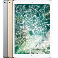 iPad cracked screen