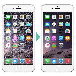 iPhone cracked screen become new after repair