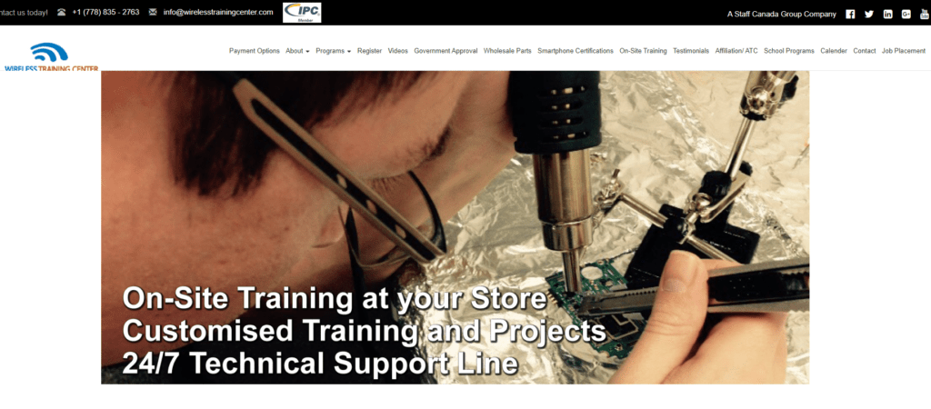 Wireless Training Center
